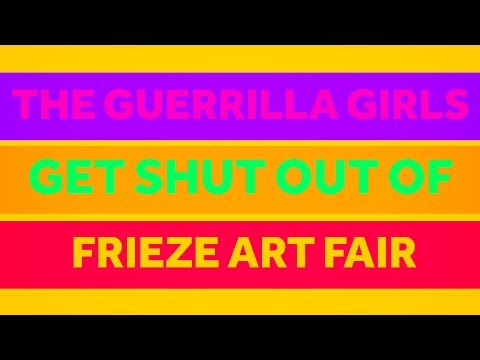 The Guerrilla Girls Get Shut Out At Frieze Art Fair | The Art Assignment | PBS Digital Studios