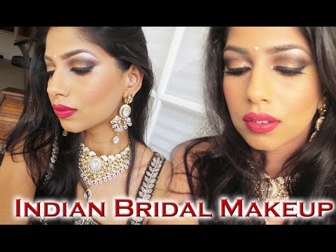 Indian Wedding Makeup Tutorial!