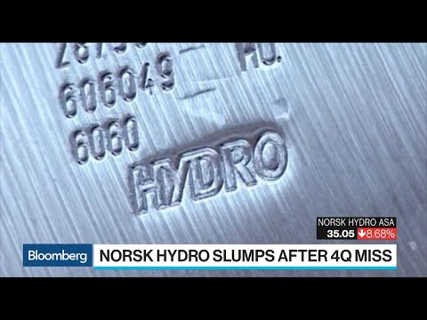 Norsk Hydro CEO Sees Alunorte Restart as a Big Uncertainty