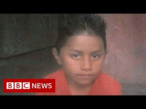The boy who died chasing an American dream - BBC News