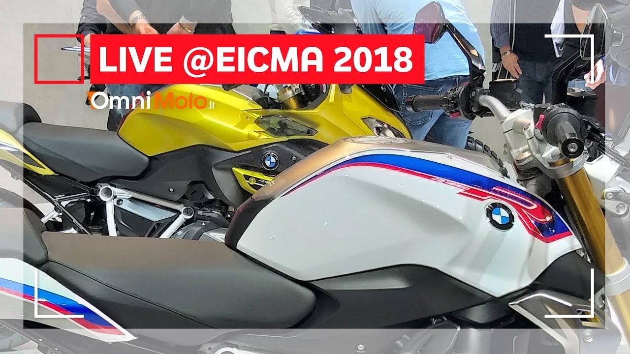 Bmw R 1250 R E R 1250 Rs Eicma 2018 Youtube
