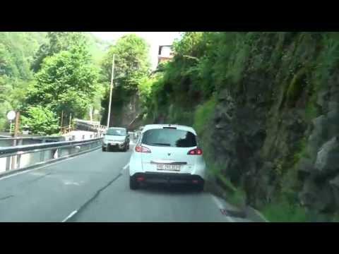 From Locarno to Lavertezzo / Driving Video / Switzerland/ 06.2013/ FullHD