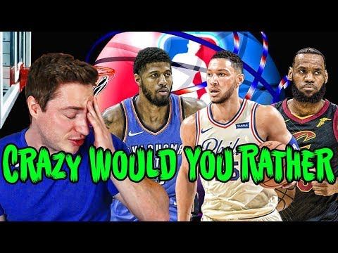 THE HARDEST NBA WOULD YOU RATHER QUIZ