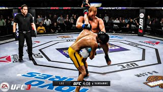 Bruce Lee vs Jean-Claude Van Damme |  EA SPORTS UFC 3