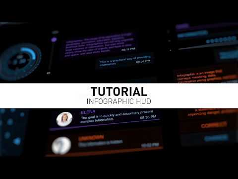 Tutorial infographic HUD