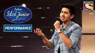 Download Armaan Malik's Melodious Performance On 'Diwana Hua Badal' | Indian Idol Junior 2