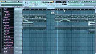 RedFoo - Bring out the bottles (Fl Studio Cover)