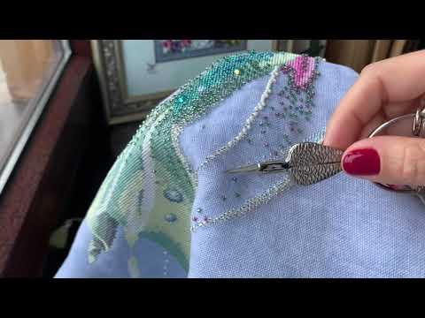 Схема вышивка русалка