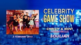 [Re-Upload] Christy & Novi (Cherrybelle) at Celebrity Game Show (Full) || 2 Februari 2015