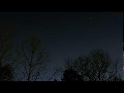 Star Gazing in North Carolina on February 25th