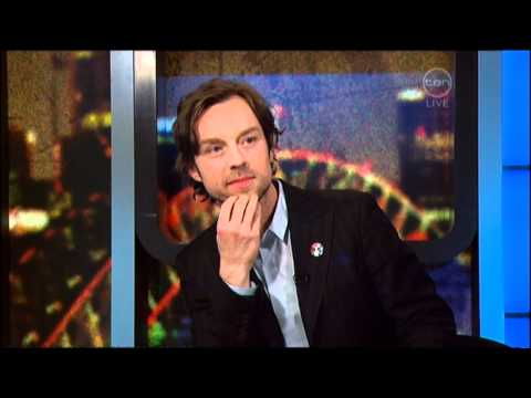 Darren Hayes interview on The 7pm Project (Australia) 2011 - Talk Talk Talk