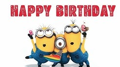 Minions Happy Birthday Song - Funny Minions Birthday Song