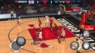 NBA Live Mobile Gameplay