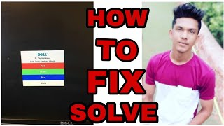 how to solve problem  dell auto detect digital input self test feature check solved problem Rajmeen