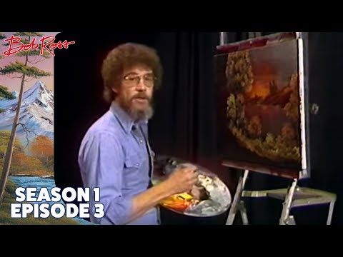 Bob Ross - Ebony Sunset (Season 1 Episode 3)