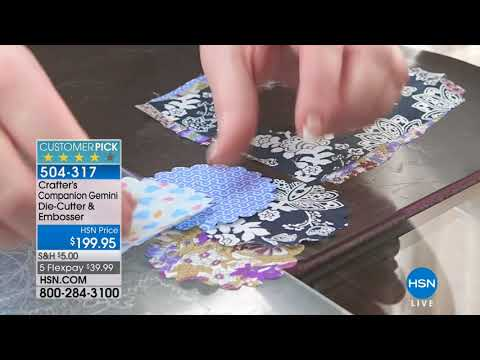 HSN | Crafter's Companion 03.07.2018 - 07 AM