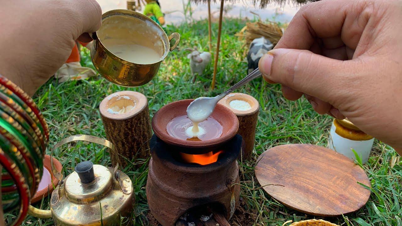 Miniature Real Cooking MALPUA || ASMR || Malpua Recipe || Mini Cooking With The Tiny Foods