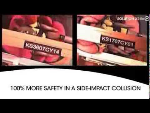 Child Car Seat CYBEX Solution X2-FIX - Solution X2 Video