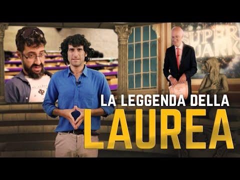 ALBERTO ANGELA E LA LEGGENDA DELLA LAUREA - feat EDOARDO FERRARIO | Le Coliche