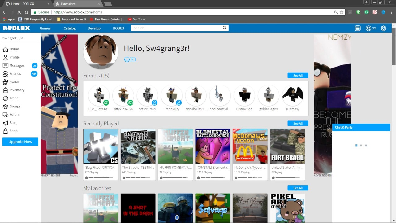Dont Get This Roblox Extension Roblox Hacked Me Youtube