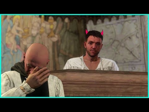 Henry Betrays Priest Godwin - Kingdom Come Deliverance Game - Evil Choice |