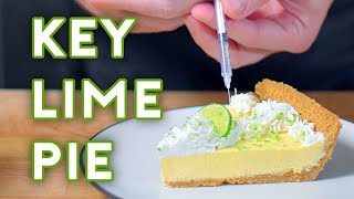Key Lime Pie|Babish Culinary Universeさんのレシピ書き起こし