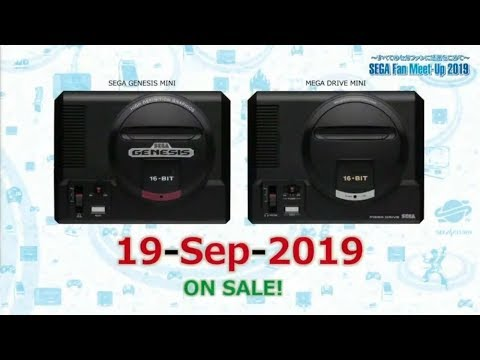 Sega Mega  Drive Mini / Genesis Mini - Games trailer (40 Games Total) thumbnail