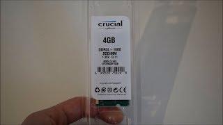 Crucial 4 GB DDR3L 1600 SODIMM CL11