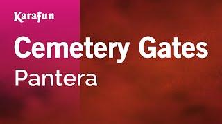 Karaoke Cemetery Gates - Pantera *