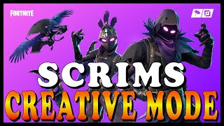 FORTNITE CREATIVE MODE (CUSTOM SCRIMS) With SUBSCRIBERS! - RAVEN and TARO SKINS ARE BACK!