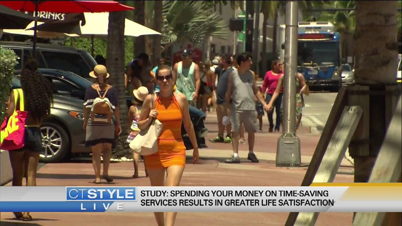 Spending money on time-saving services makes you happier than buying stuff, study says