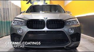 BMW X5M Ceramic Coatings | Calgary, Alberta