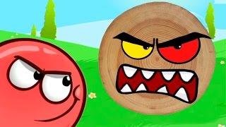 RED BALL 4 КРАСНЫЙ ШАР против ЗЛОГО черного КВАДРАТА Игровой мультик Развлекательное видео Для детей