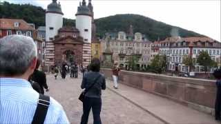 Historic old town (Altstadt) of Heidelberg, Germany