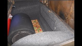 Тюнинг багажника ВАЗ 2106