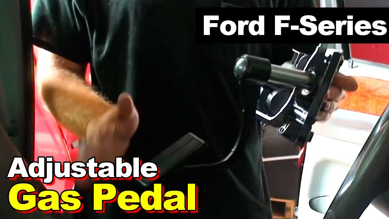 Ford F250 F350 Excursion Adjustable Gas Accelerator Pedal Position 2004 F150 Sensor Wiring Harness Youtube