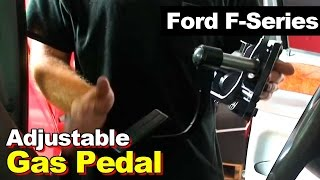 Ford F250/F350/Excursion Adjustable Gas/Accelerator Pedal & Position Sensor
