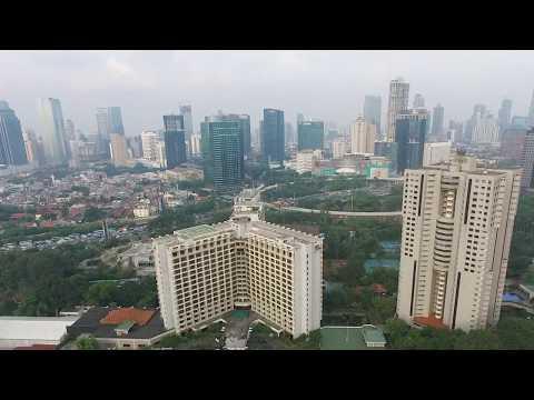 Aerial photography at Senayan, Jakarta, INDONESIA
