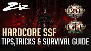 Path of Exile - Hardcore SSF Tips, Tricks & Survival Guide