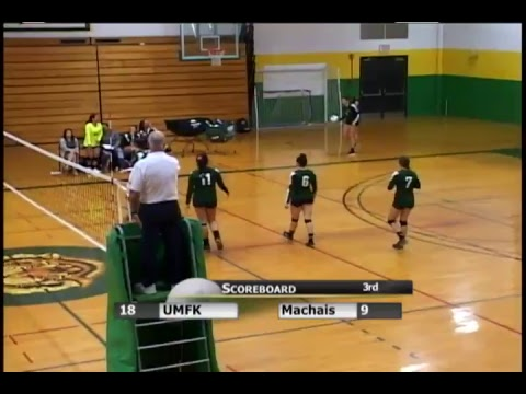 UMFK Women's Volleyball vs. University of Maine Machias: Game 2 - October 5, 2017