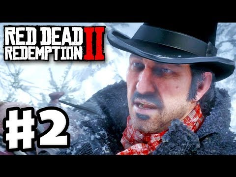 Red Dead Redemption 2 - Gameplay Walkthrough Part 2 - Old Friends! Dead Eye! (RDR2 PS4)