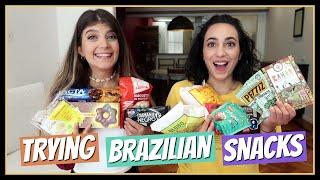 Δοκιμάζουμε Βραζιλιάνικα Σνακ || fraoules22