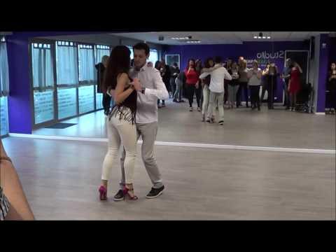 Kizomba - Lourenço Marques & Sara Panero au Studio LMK Danse