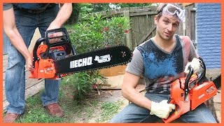 unboxing the timber wolf echo cs 590 chainsaw