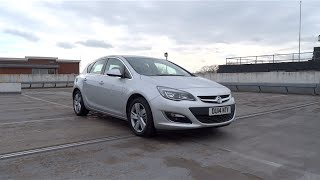 2014 Vauxhall Astra 1.4i 16v VVT Turbo 140 SRi Start-Up and Full Vehicle Tour
