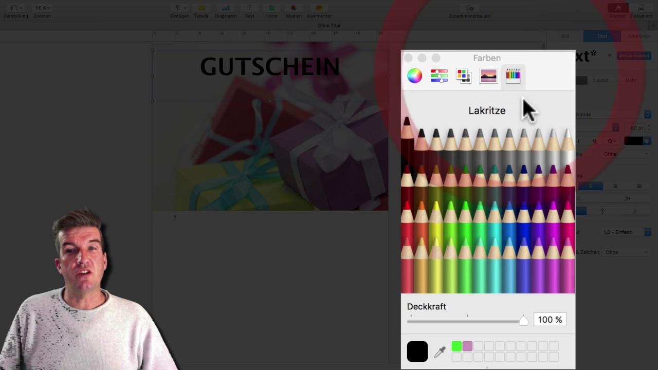 Pages Vorlagen Fur Mac Und Ipad Erstellen