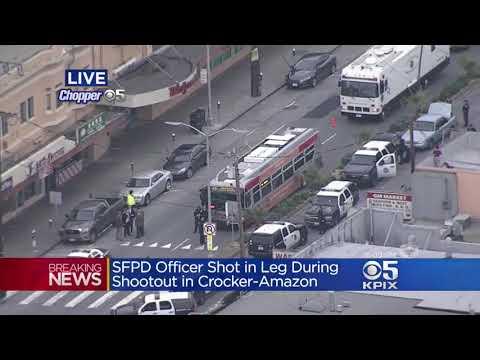 Sanctuary City San Francisco: Police Officer, 2 Others Shot!