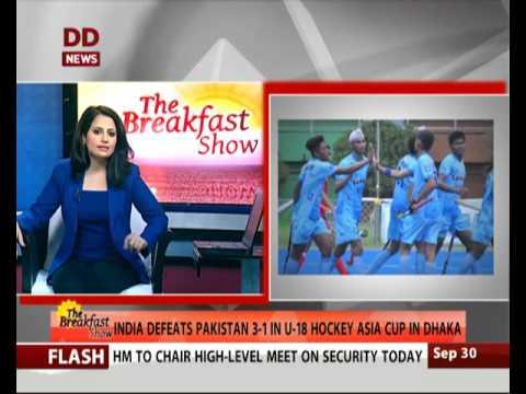 India defeats Pakistan 3-1 in U-18 Hockey Asia Cup in Dhaka