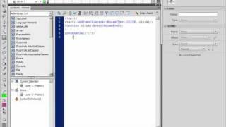 Создание кнопок и работа с ними в Adobe Flash CS4 (42/46)