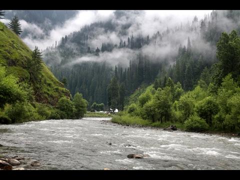 Beautiful Neelam River Near Murree Pakistan